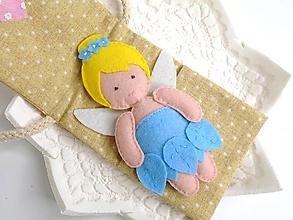 Hračky - Drobnosti v kapsičke pre dievčatá (Víla modrá) - 10041930_