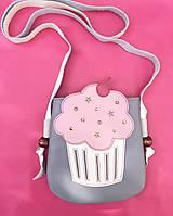 Kabelky - Šedý muffin - 10043296_