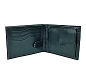 Tašky - Pánska peňaženka z pravej kože v čiernej farbe - 10040472_