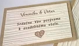 Papiernictvo - Pozvánka k stolu - 10040239_