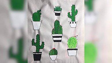 Iné tašky - ♥ Plátená, ručne maľovaná taška ♥ - 10040468_