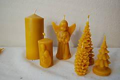 Svietidlá a sviečky - Sviečka z včelieho vosku Sv. rodina - 10041887_