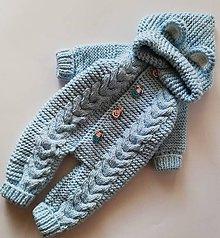 Detské oblečenie - overal pre bábätko - 10042208_