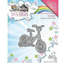 Pomôcky/Nástroje - Kovová šablóna Tots and Toddlers - Tricycle - 10043227_