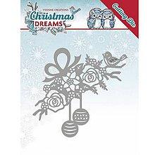 Pomôcky/Nástroje - Kovová šablóna Christmas Dreams - Bauble Ornament - 10043260_