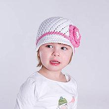 Detské čiapky - Šmrncovka - návod na háčkovanie - 10040551_