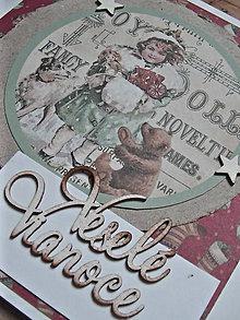 Papiernictvo - Vianočná pohľadnica / SKLADOM - 10043478_