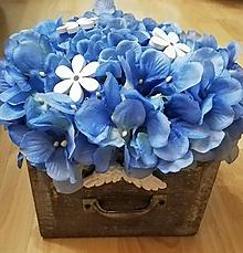 Dekorácie - Modro - biela klasika - 10043846_