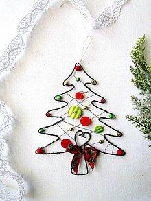 Dekorácie - Vianočný stromček veľký - 10040797_