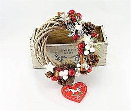 Dekorácie - Vianočný koníkový - 10041865_