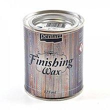 Farby-laky - Vosková pasta, hnedá, 125ml, ihneď - 10043276_