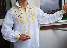 Oblečenie - detvianska košeľa - 10041047_