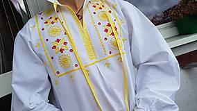 Oblečenie - detvianska košeľa - 10041048_