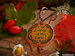 Náhrdelníky - I am a child of the Earth - 10047156_