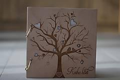 Papiernictvo - Kniha hostí vtáčiky 21x21 cm - 10044038_