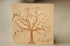 Papiernictvo - Kniha hostí vtáčiky 21x21 cm - 10044307_