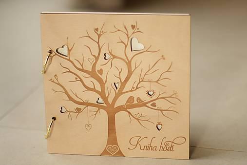 Kniha hostí vtáčiky 21x21 cm