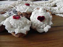 Dekorácie - Babičkine čipkovance:-) - vianočné oriešky - 10045497_