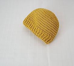 Detské čiapky - Čiapočka - merino, bavlna - 10047093_