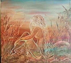 Obrazy - O čom sníva morská víla - 10045811_