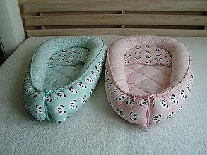 Textil - Hniezda pre bábätká s pandami - 10045884_