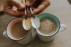 Pomôcky - Sada čajových lyžičiek JA a TY - 10045708_
