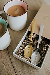 Pomôcky - Sada čajových lyžičiek JA a TY - 10045715_