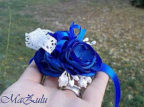 Náramky - Vintage svadobný náramok IX. - 10046320_