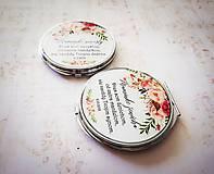 Darčeky pre svadobčanov - Zrkadielko - 10045505_