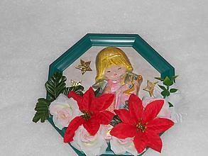Dekorácie - Vianočný 3D obrázok - 10048063_