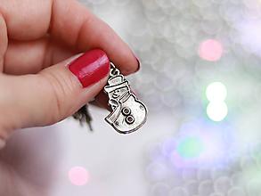 Iné šperky - Xmas Stitch marker set - označovač očiek - VIANOCE - 10044270_