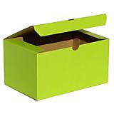 Obalový materiál - 200074 BAREVNÁ ŠKATUĹA zelená/19,3 x 12,8 x 10,3 cm - 10045798_