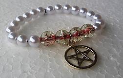Náramky - Náramok Pentagram - 10044562_