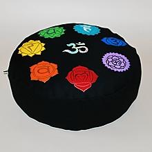 Úžitkový textil - Meditačný vankúš Čakrový - 10047874_