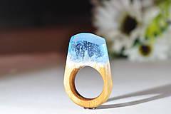 Prstene - Drevený prsteň Circa - 10048368_