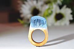 Prstene - Drevený prsteň Circa - 10048370_