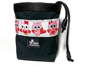 Pre zvieratá - Pamlskovník Little Owls black - 10045915_