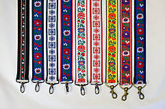 - Folk popruh na kabelku šírky 4 cm (Popruh na želanie (viď popis, fotky)) - 10046011_