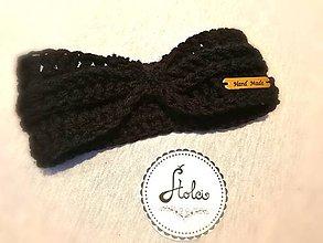 Ozdoby do vlasov - Čelenka Twist (Čierna) - 10046842_