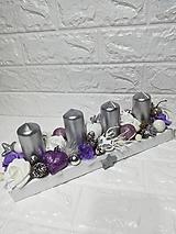 Svietidlá a sviečky - Adventný svietnik - 10044197_
