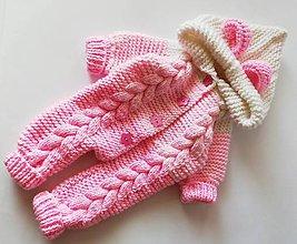 Detské oblečenie - overal pre bábätko - 10045095_