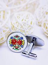 Šperky - Manžetové gombíky Herbert - 10044437_