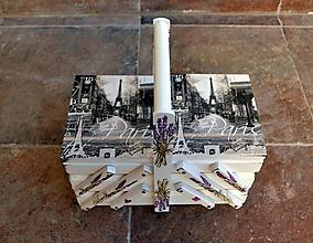 Krabičky - Rozkladací kufrík - 10045625_