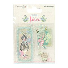 Pomôcky/Nástroje - Dovecraft Couture Du Jour razítka - 10046994_