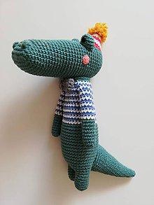 Hračky - Krokodíl Daniel - 10047477_
