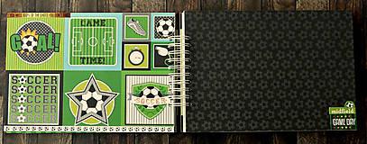 Papiernictvo - ALBUM - fotoalbum pre futbalistu-Futbal - 10045448_