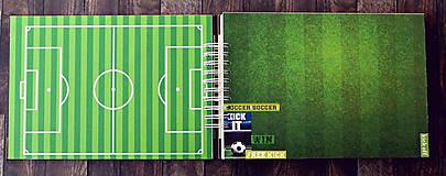 Papiernictvo - ALBUM - fotoalbum pre futbalistu-Futbal - 10045458_