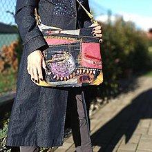 """Veľké tašky - Kabelka """"Mandala"""" - 10047806_"""