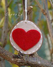 Dekorácie - Darujem ti srdce - 10044525_