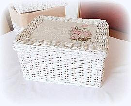 Košíky - Košík s nasúvacím  vrchnákom - 10047224_
